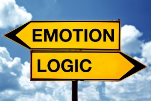 emotion vs logic